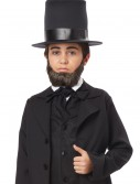 Child Honest Abe Beard, halloween costume (Child Honest Abe Beard)