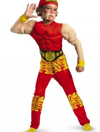 Child Hulk Hogan Costume, halloween costume (Child Hulk Hogan Costume)