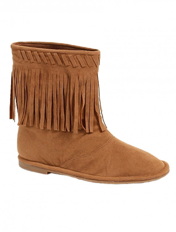 Child Indian Boots, halloween costume (Child Indian Boots)