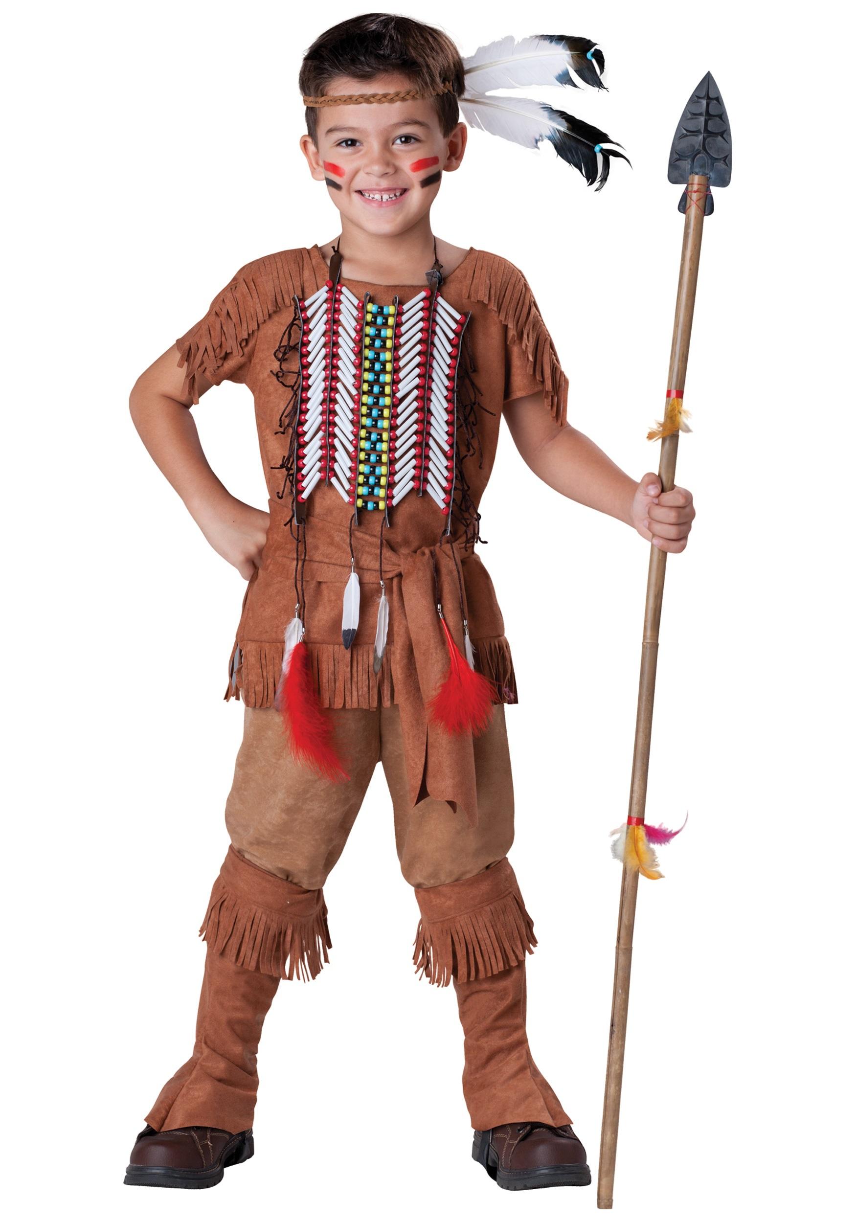Как сделать костюм для индейца своими руками 78