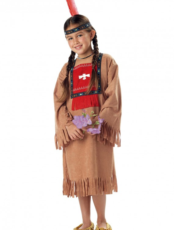 Child Indian Girl Costume, halloween costume (Child Indian Girl Costume)