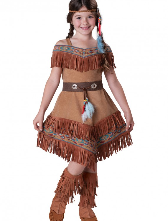 Child Indian Maiden Costume, halloween costume (Child Indian Maiden Costume)