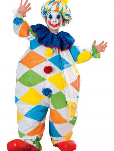 Child Inflatable Clown Costume, halloween costume (Child Inflatable Clown Costume)