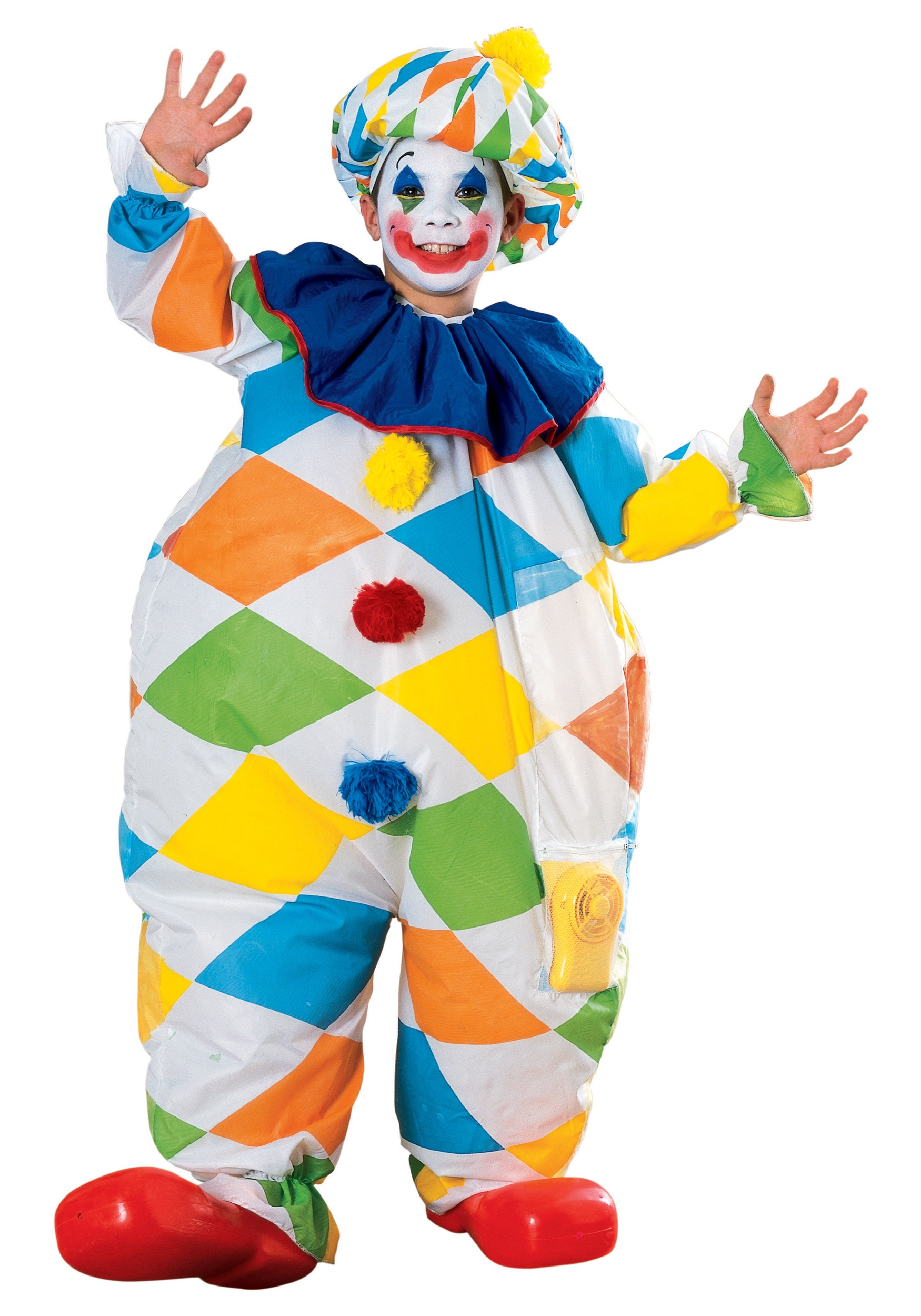Child Inflatable Clown Costume  sc 1 st  Halloween Costumes & Child Inflatable Clown Costume - Halloween Costumes