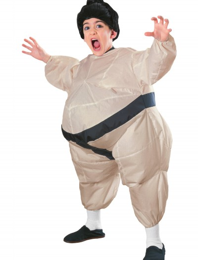 Child Inflatable Sumo Costume, halloween costume (Child Inflatable Sumo Costume)