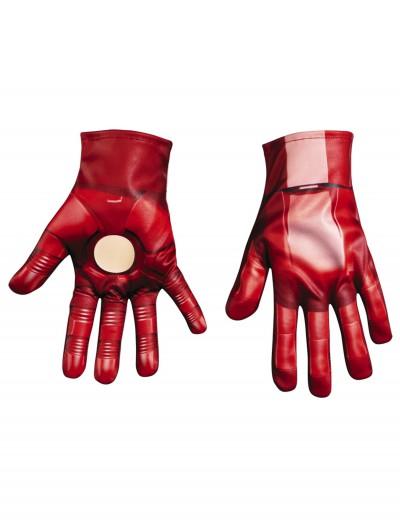 Child Iron Patriot Gloves, halloween costume (Child Iron Patriot Gloves)
