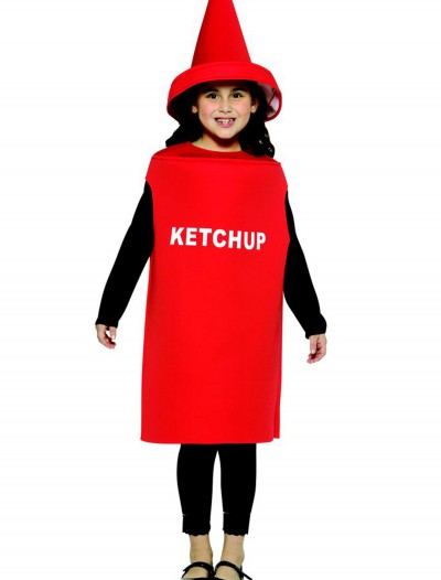 Child Ketchup Costume, halloween costume (Child Ketchup Costume)