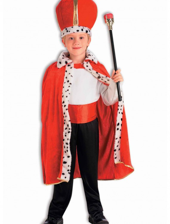 Child King Robe and Crown Set, halloween costume (Child King Robe and Crown Set)