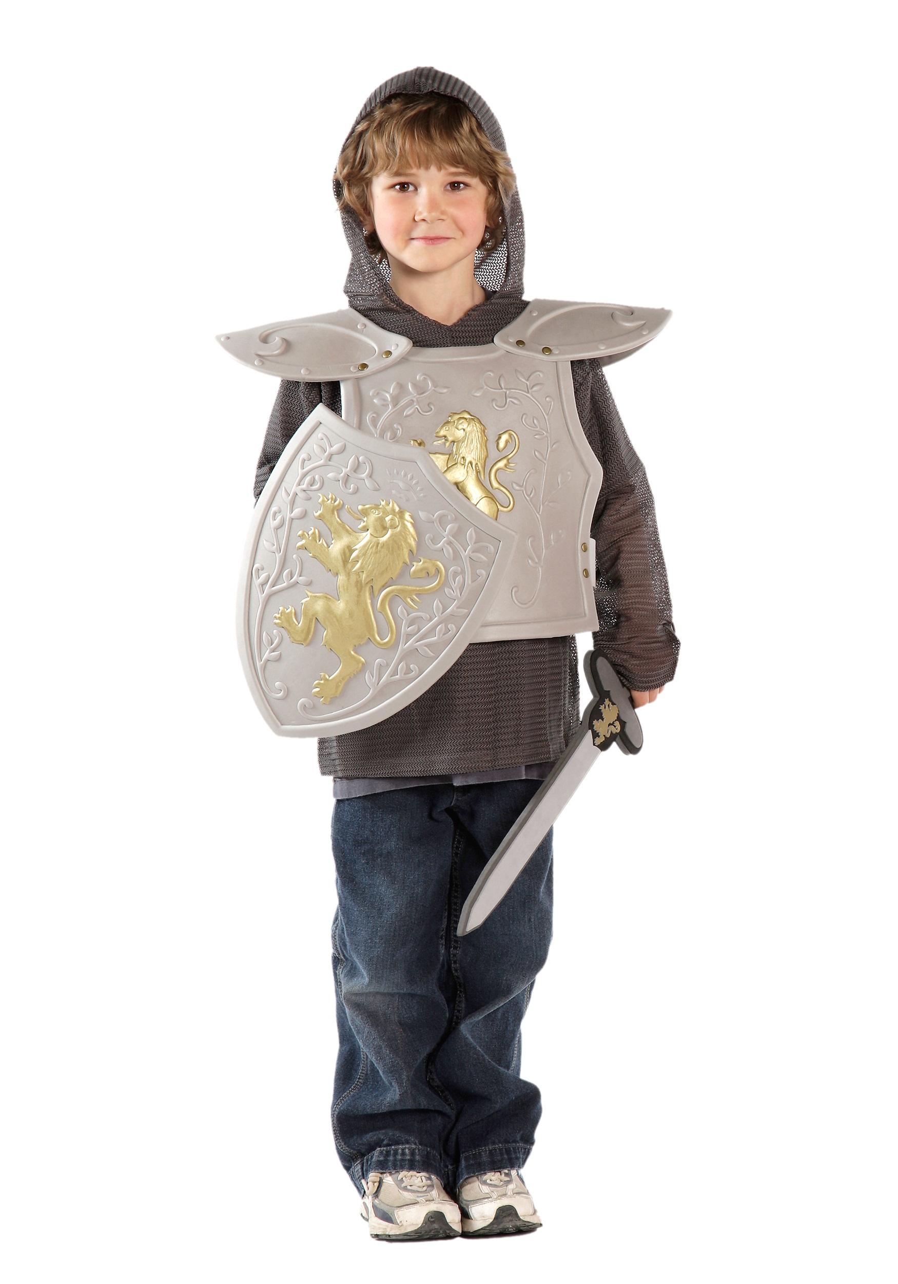 child knight armor set