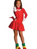 Child Knuckles Girls Costume, halloween costume (Child Knuckles Girls Costume)