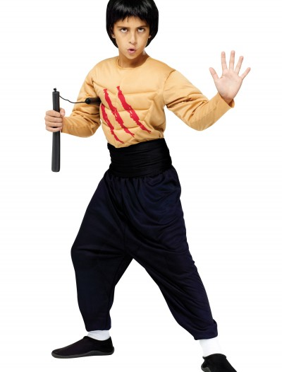 Child Kung Fu Master Costume, halloween costume (Child Kung Fu Master Costume)
