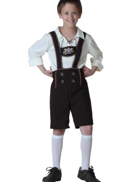 Child Lederhosen Costume, halloween costume (Child Lederhosen Costume)