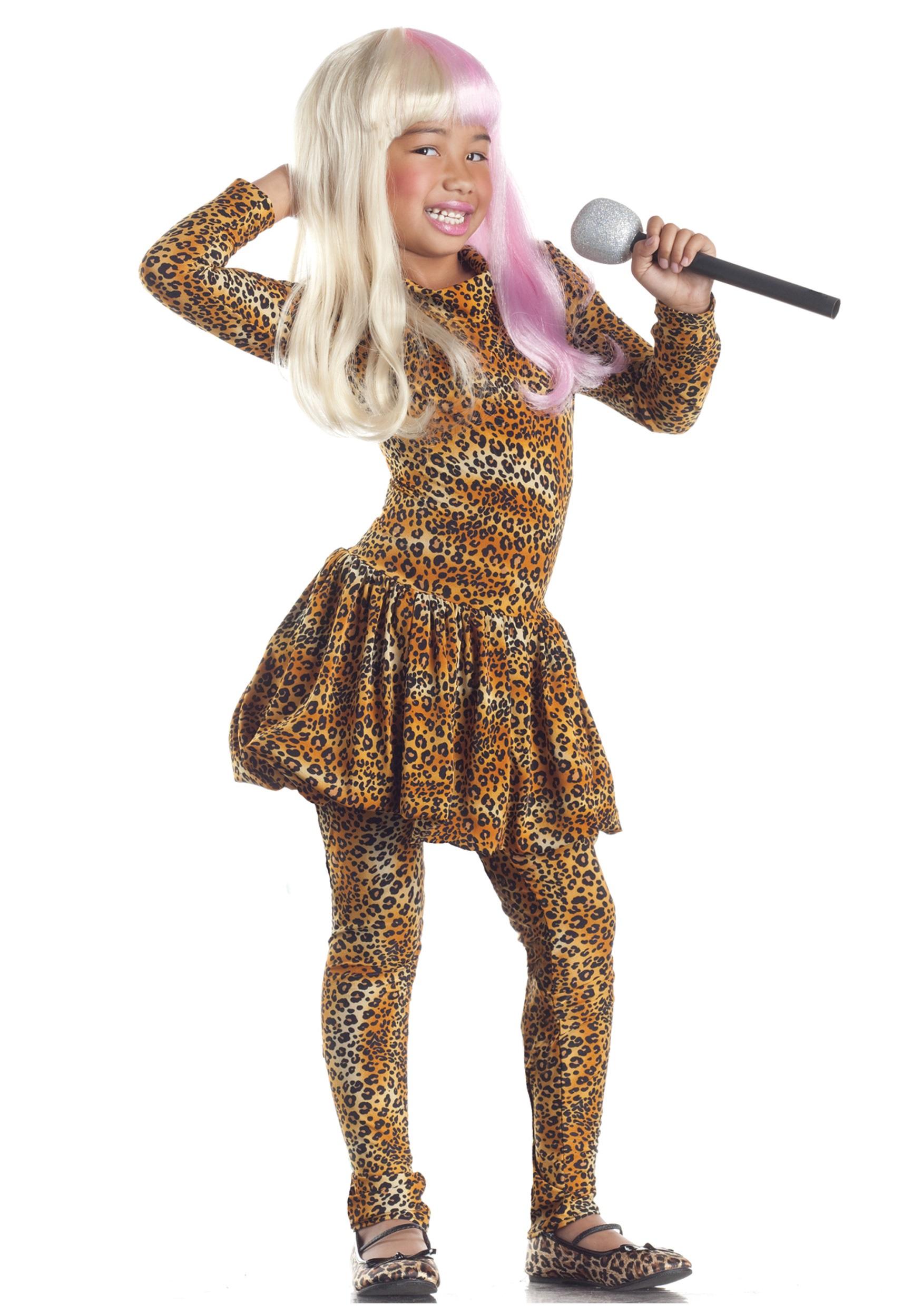 Child Leopard Rap Superstar Costume - Halloween Costumes