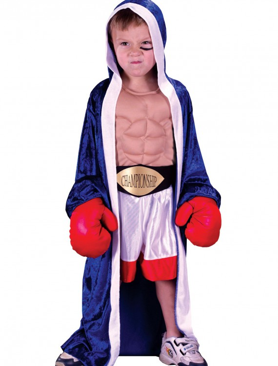 Child Lil' Champ Boxer Costume, halloween costume (Child Lil' Champ Boxer Costume)