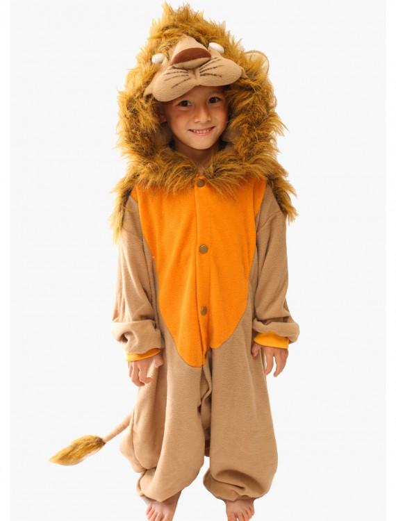 Child Lion Pajama Costume, halloween costume (Child Lion Pajama Costume)