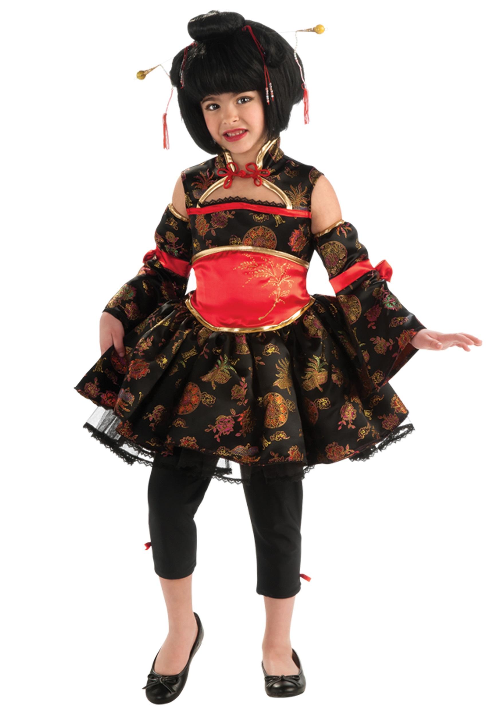 Child Little Geisha Costume  sc 1 st  Halloween Costumes & Child Little Geisha Costume - Halloween Costumes