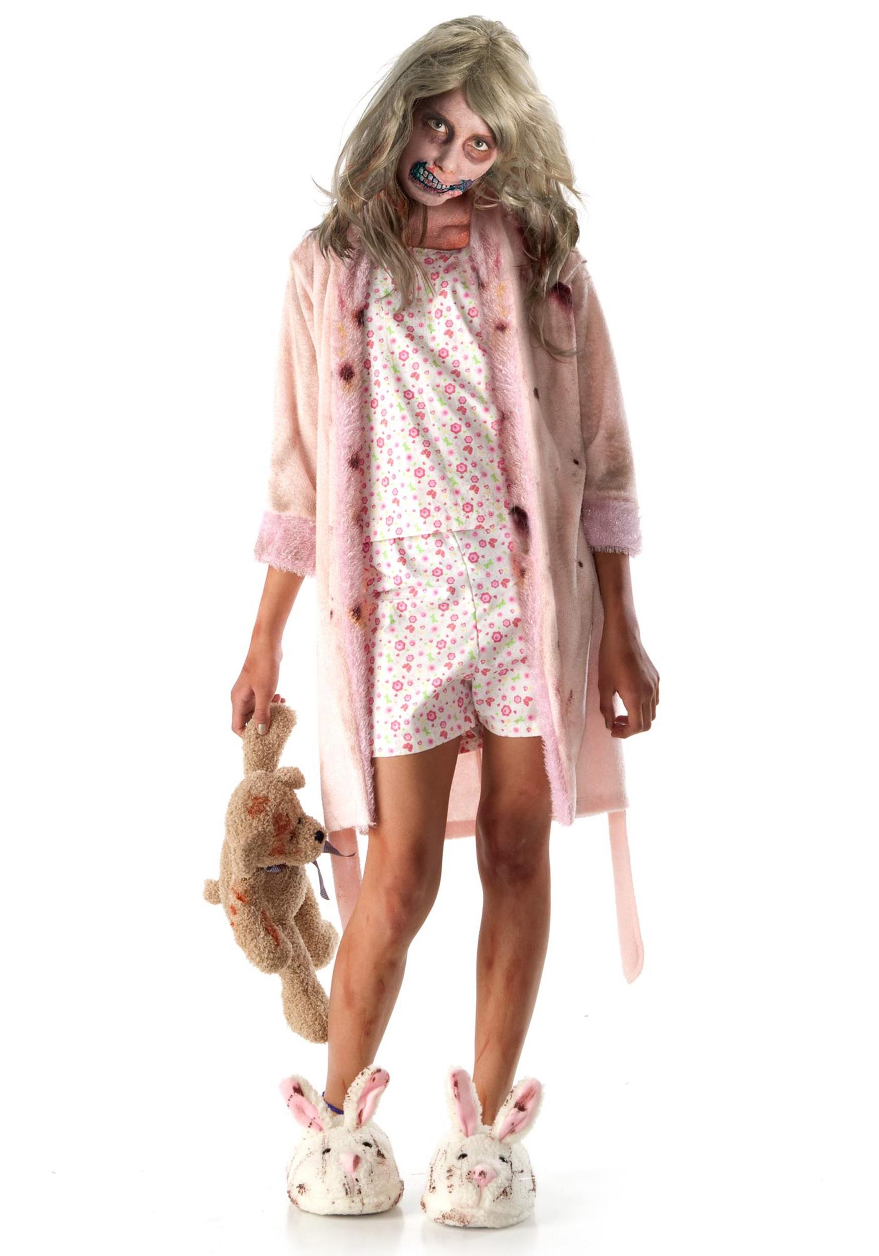 Child Little Girl Zombie Costume