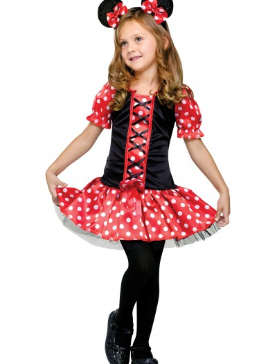 Child Little Miss Mouse Costume, halloween costume (Child Little Miss Mouse Costume)