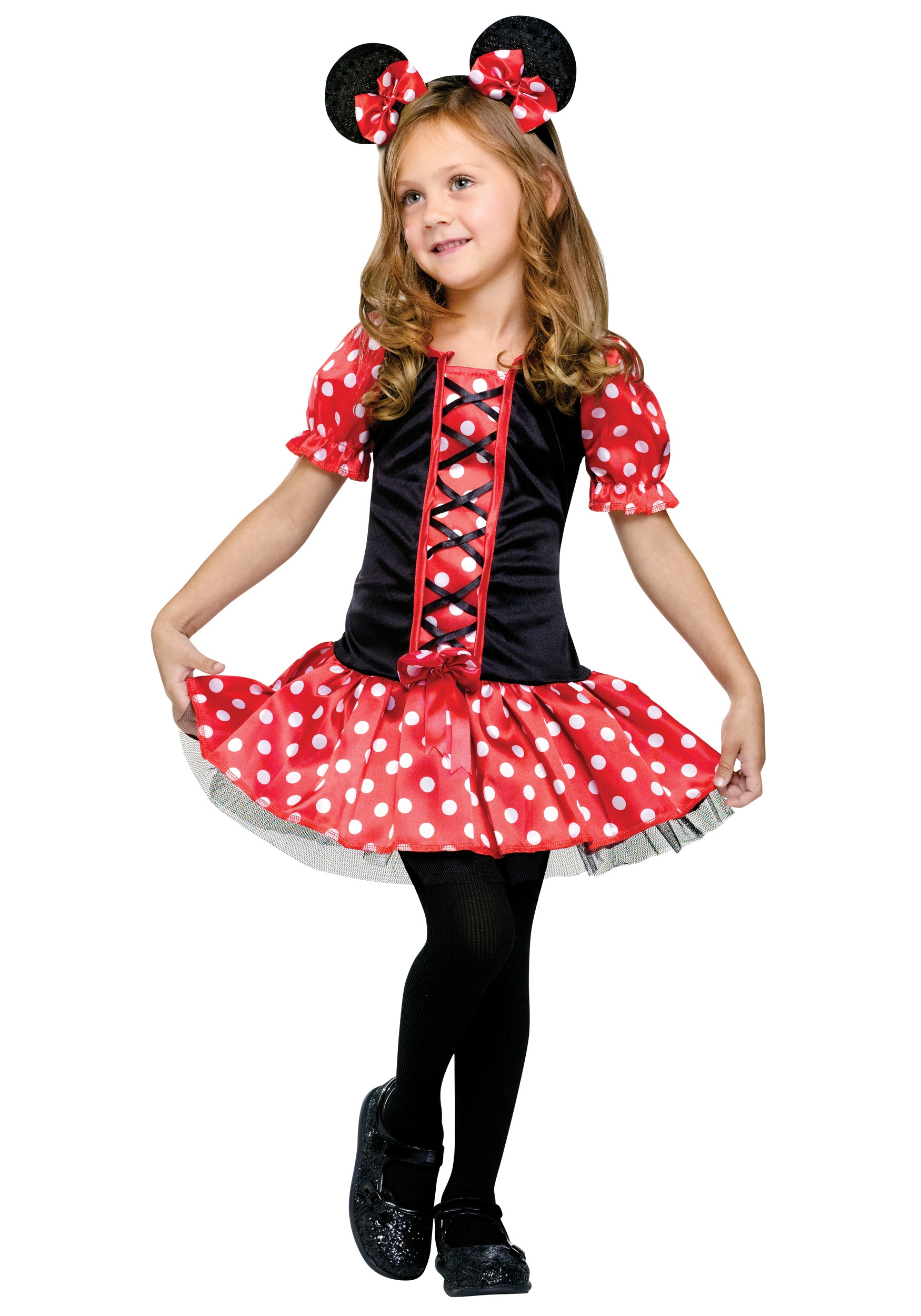 Child Little Miss Mouse Costume - Halloween Costumes