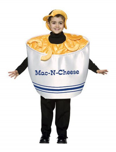 Child Mac-N-Cheese Costume, halloween costume (Child Mac-N-Cheese Costume)