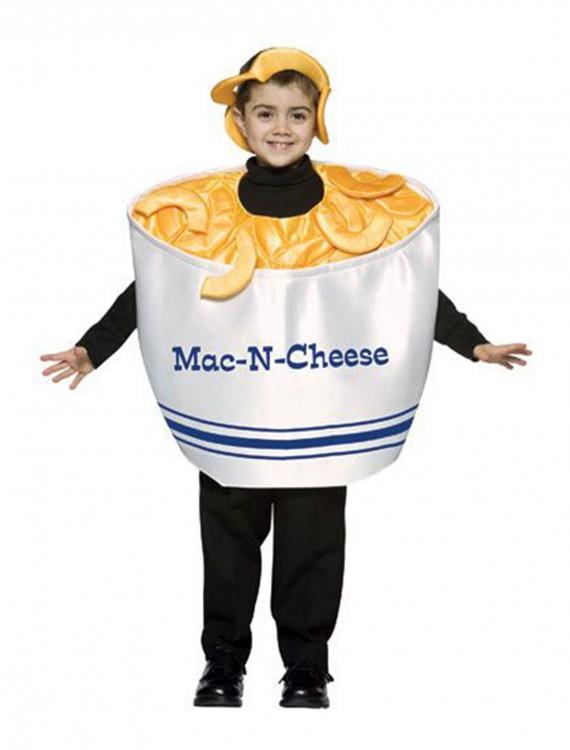 Child Mac-N-Cheese Costume, halloween costume (Child Mac-N-Cheese Costume)