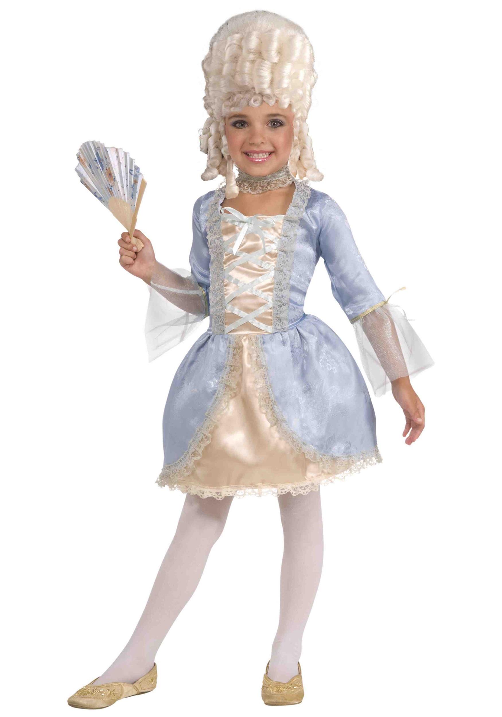 Child Marie Antoinette Costume  sc 1 st  Halloween Costumes & Child Marie Antoinette Costume - Halloween Costumes