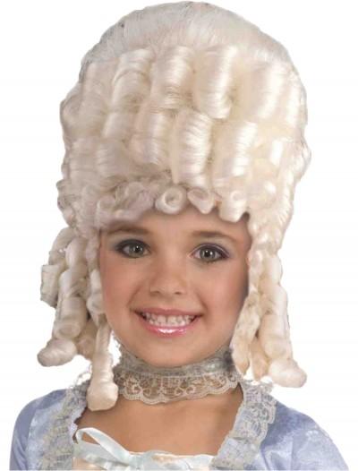 Child Marie Antoinette Wig, halloween costume (Child Marie Antoinette Wig)
