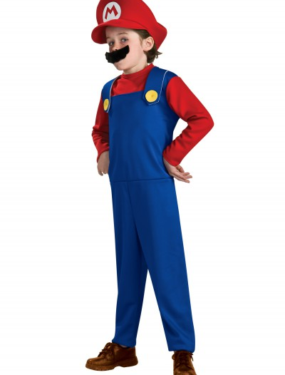 Child Mario Classic Costume, halloween costume (Child Mario Classic Costume)
