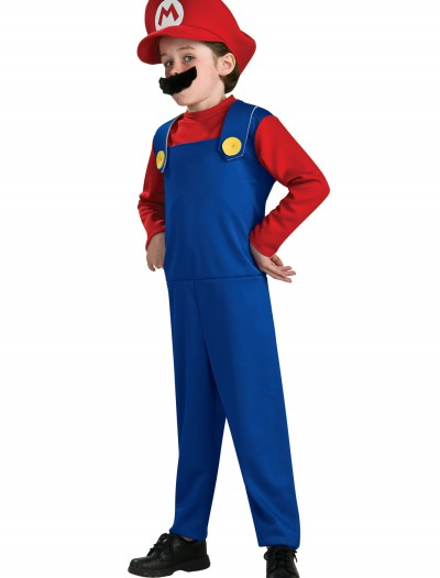 Child Mario Costume, halloween costume (Child Mario Costume)