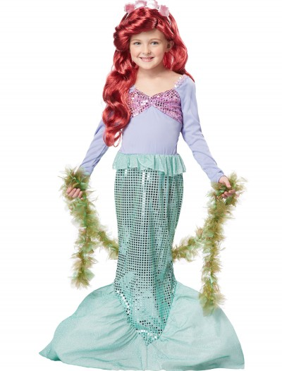 Child Mermaid Costume, halloween costume (Child Mermaid Costume)