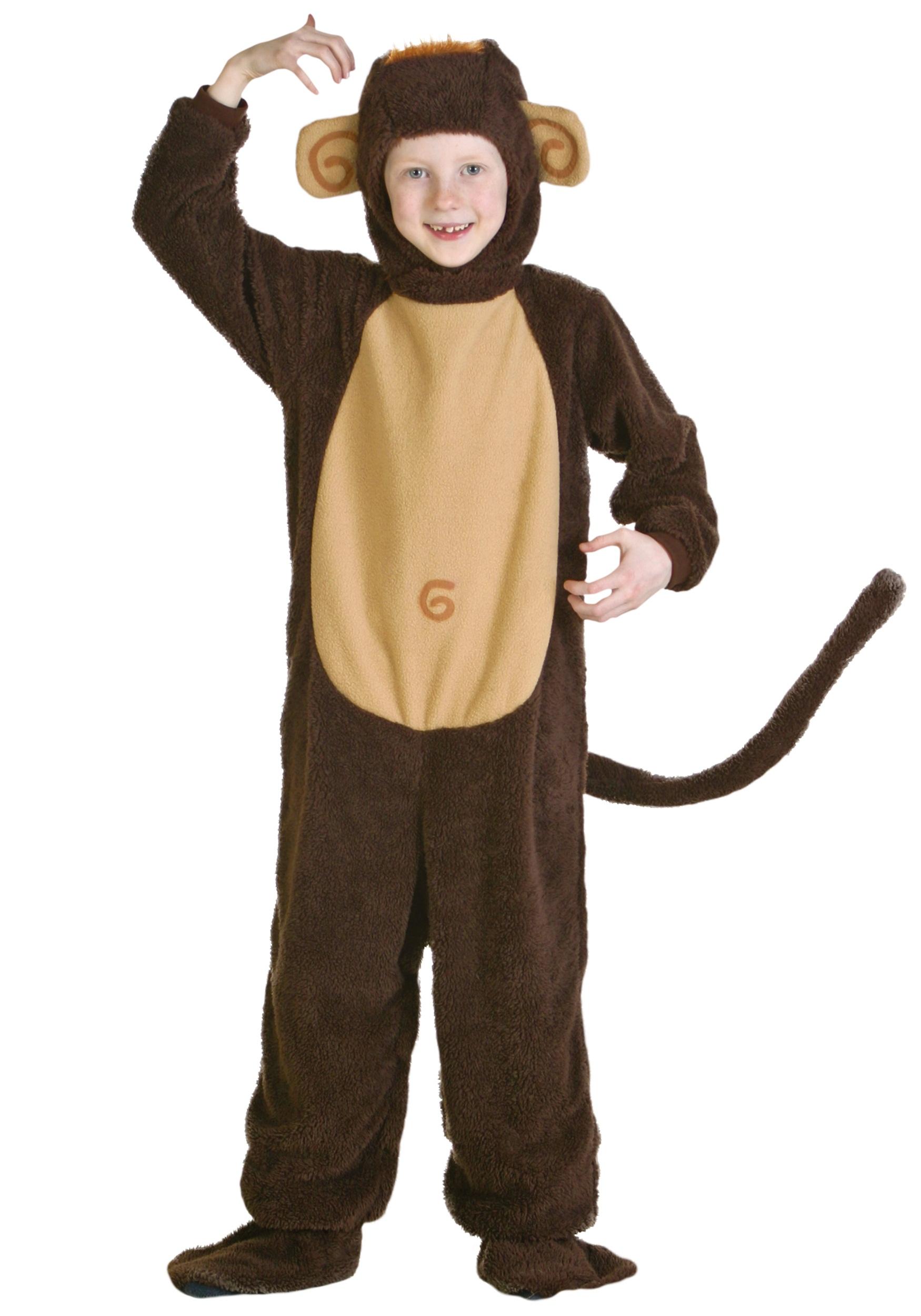 Костюм обезьянки для мальчика своими руками