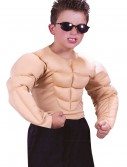 Child Muscle Chest Shirt, halloween costume (Child Muscle Chest Shirt)
