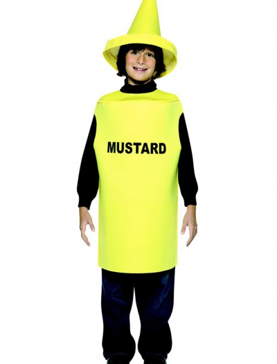 Child Mustard Costume, halloween costume (Child Mustard Costume)