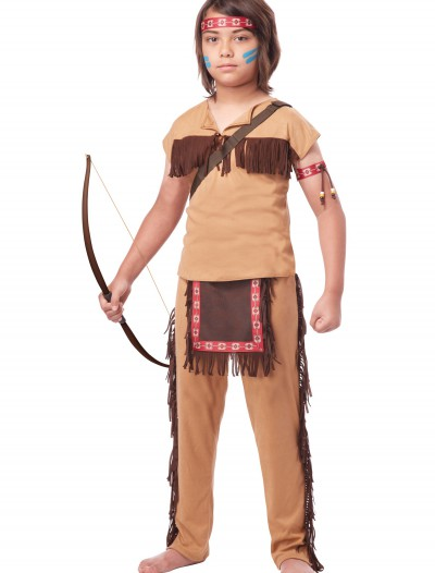 Child Native American Brave Costume, halloween costume (Child Native American Brave Costume)