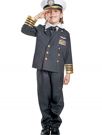 Kids Navy Admiral Costume, halloween costume (Kids Navy Admiral Costume)