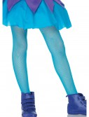 Child Neon Blue Fishnet Tights, halloween costume (Child Neon Blue Fishnet Tights)