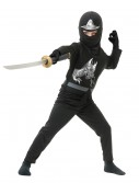 Child Ninja Avengers Series II Black Costume, halloween costume (Child Ninja Avengers Series II Black Costume)