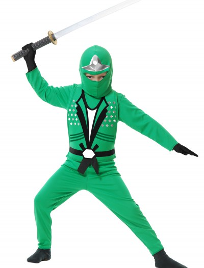 Child Ninja Avengers Series II Green Costume, halloween costume (Child Ninja Avengers Series II Green Costume)