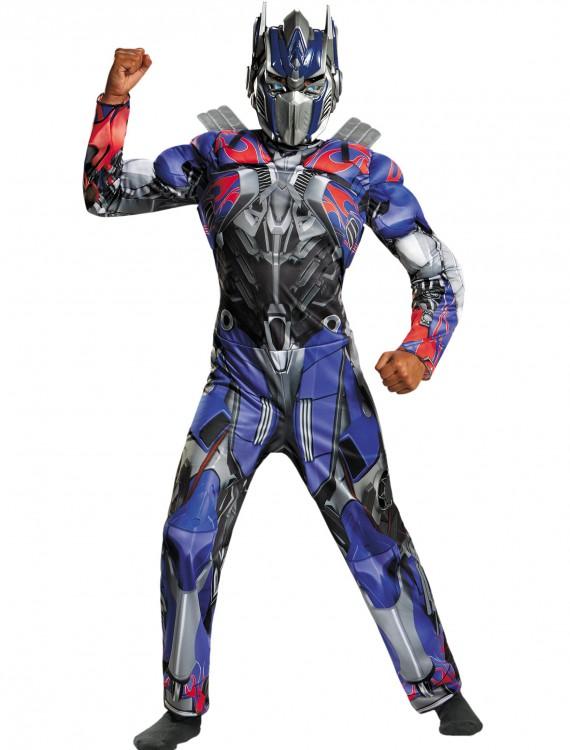 Child Optimus Prime Classic Muscle Movie Costume, halloween costume (Child Optimus Prime Classic Muscle Movie Costume)