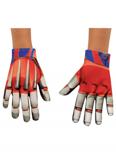 Child Optimus Prime Movie Gloves, halloween costume (Child Optimus Prime Movie Gloves)