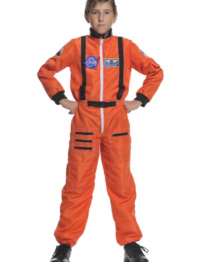 Child Orange Astronaut Costume, halloween costume (Child Orange Astronaut Costume)