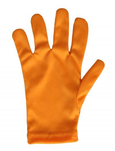 Child Orange Gloves, halloween costume (Child Orange Gloves)