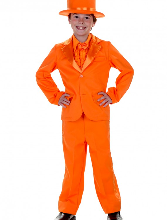Child Orange Tuxedo, halloween costume (Child Orange Tuxedo)