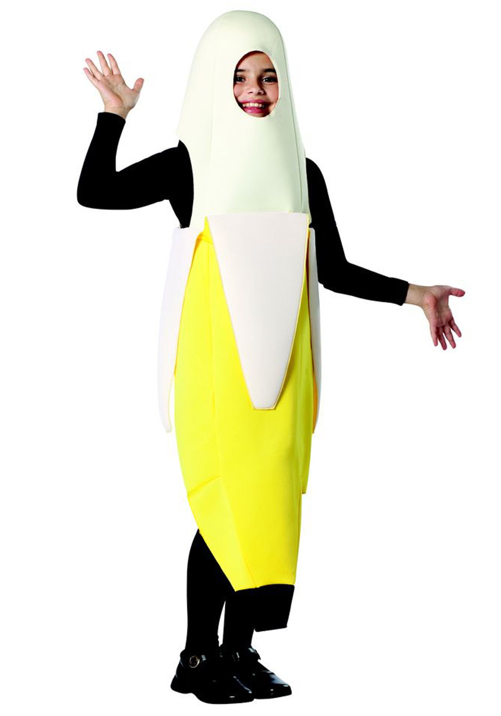 Child Peeled Banana Costume  sc 1 st  Halloween Costumes & Child Peeled Banana Costume - Halloween Costumes