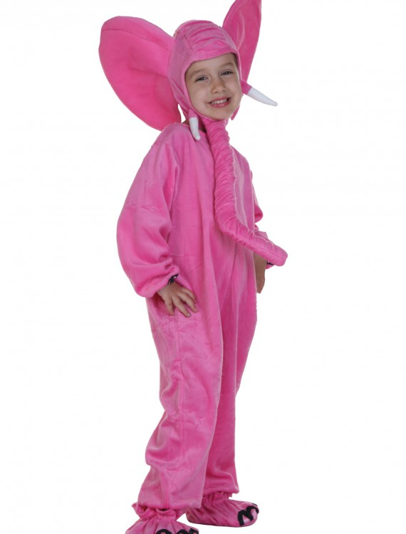 Child Pink Elephant Costume, halloween costume (Child Pink Elephant Costume)