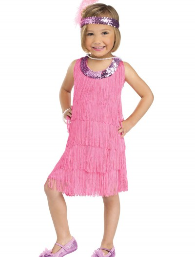 Child Pink Flapper Costume, halloween costume (Child Pink Flapper Costume)