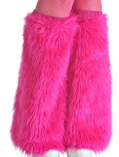 Child Pink Furry Boot Covers, halloween costume (Child Pink Furry Boot Covers)