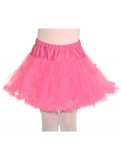 Child Pink Petticoat, halloween costume (Child Pink Petticoat)