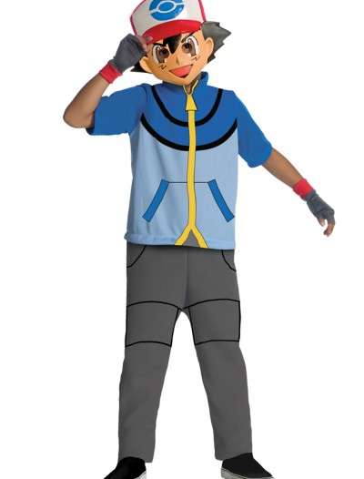 Child Pokemon Ash Costume, halloween costume (Child Pokemon Ash Costume)