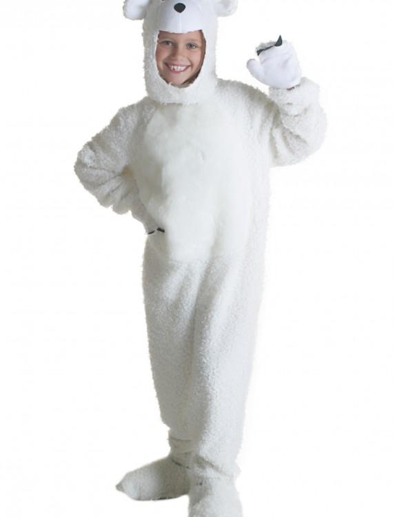 Child Polar Bear Costume, halloween costume (Child Polar Bear Costume)